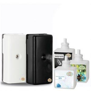 חבילת בישום אידוי , מתקן ריח אידוי החדש + 3 קפסולות  ריח